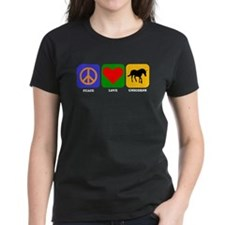 Peace Love Unicorns T-Shirt
