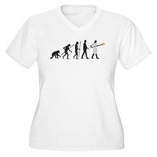 Evolution of man baker Plus Size T-Shirt