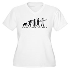 Evolution of man baker Plus Size T-Shirt