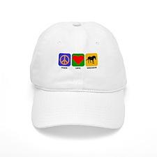 Peace Love Unicorns Baseball Cap