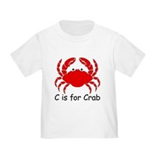 C is for Crab T