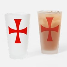 Knights Templar Cross Drinking Glass