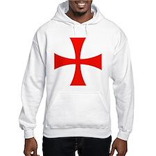 Knights Templar Cross Jumper Hoodie
