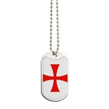 Knights Templar Cross Dog Tags