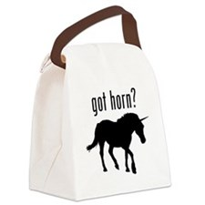 got horn? Unicorn Canvas Lunch Bag