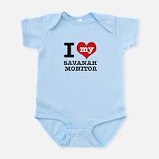 I love my Savanah Monitor Infant Bodysuit