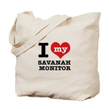 I love my Savanah Monitor Tote Bag