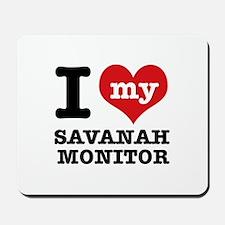 I love my Savanah Monitor Mousepad