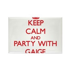 Keep Calm and Party with Gaige Magnets