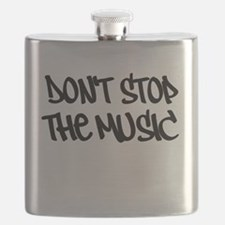 Dont stop the music | DJ graffiti Flask