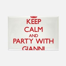 Keep Calm and Party with Gianni Magnets