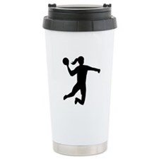 Womens handball Travel Mug