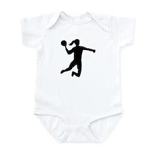 Womens handball Infant Bodysuit