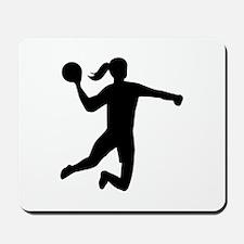 Womens handball Mousepad