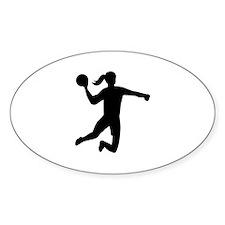 Womens handball Decal