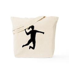 Womens handball Tote Bag