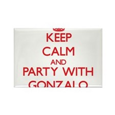 Keep Calm and Party with Gonzalo Magnets