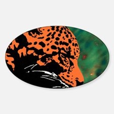 Leopard Oval Decal