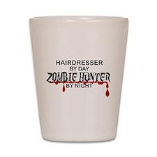 Zombie Hunter - Hairdresser Shot Glass