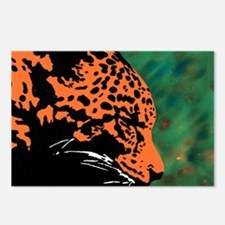Leopard Postcards (Package of 8)
