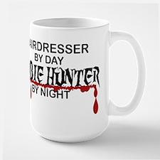 Zombie Hunter - Hairdresser Large Mug