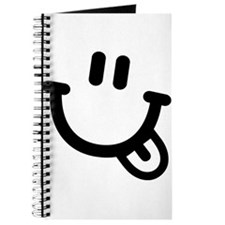 Smiley face tongue Journal