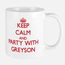 Keep Calm and Party with Greyson Mugs