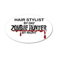 Zombie Hunter - Hair Stylist Wall Decal