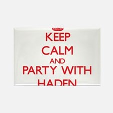 Keep Calm and Party with Haden Magnets