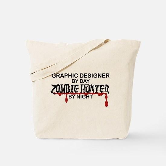 Zombie Hunter - Graphic Designer Tote Bag