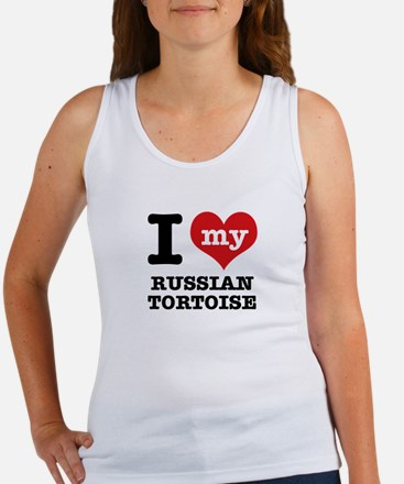 I love my Russian Tortise Women's Tank Top