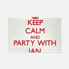 Keep Calm and Party with Ian Magnets