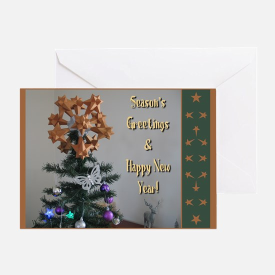 Polyhedral Christmas Greeting Card
