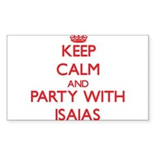 Keep Calm and Party with Isaias Decal