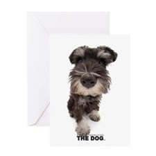 Miniature Schnauzer Greeting Cards