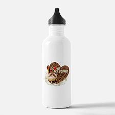 I Love My Coffee Water Bottle