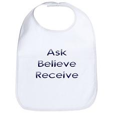 Ask Believe Receive Bib