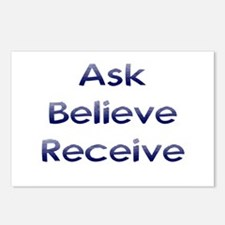 Ask Believe Receive Postcards (Package of 8)