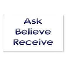 Ask Believe Receive Decal