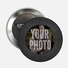 "CUSTOM PHOTO Art Deco Starburst 2.25"" Button"
