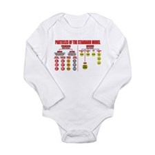 Particles Long Sleeve Infant Bodysuit