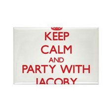 Keep Calm and Party with Jacoby Magnets