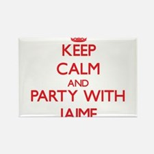 Keep Calm and Party with Jaime Magnets