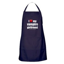 """Love My Vampire Girlfriend"" Apron (dark)"