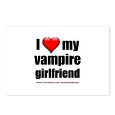 """Love My Vampire Girlfriend"" Postcards (Package of"