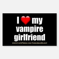 """""""Love My Vampire Girlfriend"""" Decal"""