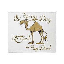 Hump Day Big Deal Throw Blanket