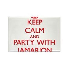 Keep Calm and Party with Jamarion Magnets