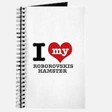 I love my Roborovski Hamster Journal