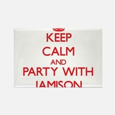 Keep Calm and Party with Jamison Magnets